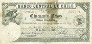 50 Pesos (5 Condores) – obverse