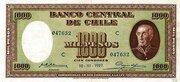 1000 Pesos (100 Condores) – obverse