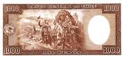1000 Pesos (100 Condores) – reverse