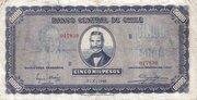 5000 Pesos (500 Condores) – obverse