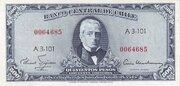 50 Centesimos (Overprint on 500 Pesos) – obverse