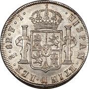 8 Reales - Fernando VII (imaginary bust) – reverse