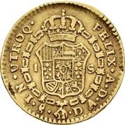 1 Escudo - Carlos IV (bust of Carlos III, CAROL IIII) – reverse