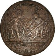 Charles IV Proclamation Medal – reverse