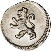 ¼ Real - Fernando VII (Colonial Milled Coinage) – obverse