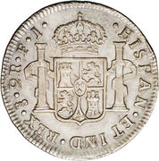 2 Reales - Fernando VII (Colonial Milled Coinage) – reverse