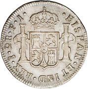 2 Reales - Fernando VII (imaginary bust) – reverse