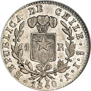 1 Real (large type) – reverse