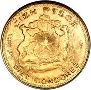 100 Pesos -  reverse