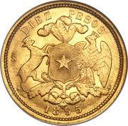 10 Pesos – reverse