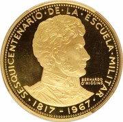 50 Pesos (150th Anniversary of Military Academy) – obverse