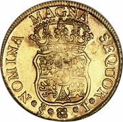 4 Escudos - Fernando VI – reverse