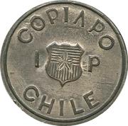 1 Peso Copiapo – obverse