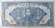 1,000 Yuan – obverse