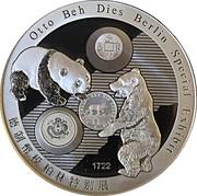 Medal - World Money Fair Berlin 2016 – reverse