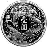 1 oz Silver (Long-Whiskered Dragon Dollar) – obverse