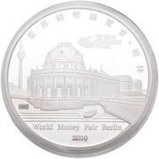 1 oz Silver (2019 Berlin Money Fair) – obverse
