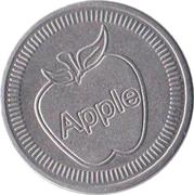 Token - Apple – obverse