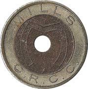 Token - Mills C.R.C.C. – obverse