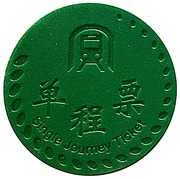 Metro Token - Shenzhen – reverse