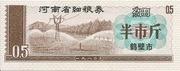 1/2 Jin · Henan Food Stamp (People's Republic of China) – obverse