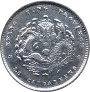 3.6 Candareens - Guangxu (Guangdong, 2nd type) – reverse
