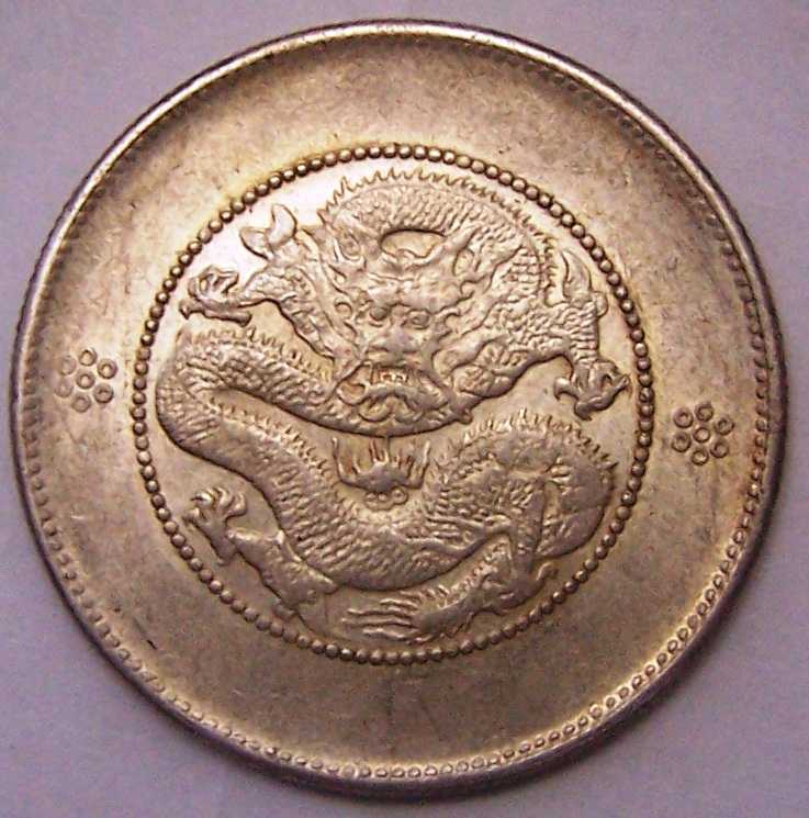 Moneda de plata China . G844