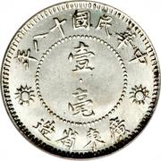 1 Jiao - Sun Yat-sen – reverse