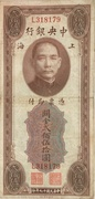 250 Customs Gold Units (Central Bank of China) – obverse