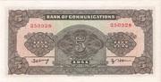 5 Yuan (Bank of Communications) – reverse