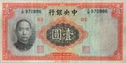 1 Yuan – obverse