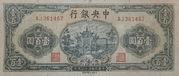 100 Yuan (The Central Bank of China) -  obverse