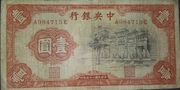 1 Yuan (Central Bank of China) – obverse
