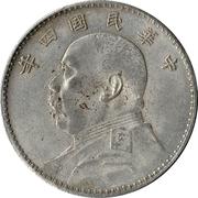 "1 Yuan - Yuan Shikai ""Fat Man"" Dollar (Imitation; steel) – obverse"