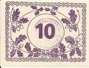 10 Heller (Christofen) – reverse