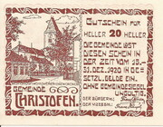 20 Heller (Christofen) -  obverse