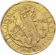 7 Ducat - Peter II – obverse