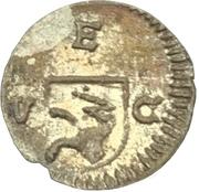 Pfennig - Ulrich VI von Mont – obverse