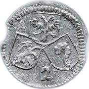 2 Pfennig - Ulrich VII von Federspiel – obverse