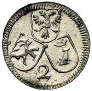 2 Pfennig - Joseph Benedict von Rost – obverse