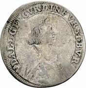 15 Kreuzer - Ulrich VII – obverse