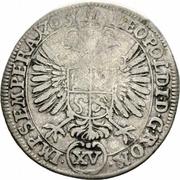 15 Kreuzer - Ulrich VII – reverse