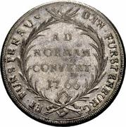 1 Thaler - Johann Anton – reverse