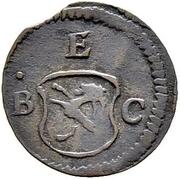 1 Pfennig - Joseph Benedikt – obverse