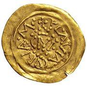 1 Tremissis - Karl der Grosse (Carolingian Mint) – reverse