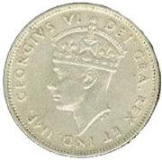 9 Piastres - George VI – obverse