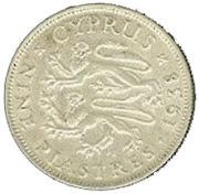 9 Piastres - George VI – reverse