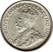 9 Piastres - George V – obverse