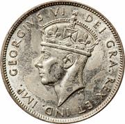 18 Piastres - George VI – obverse