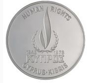 500 Mils (Human Rights - Silver Proof issue) – obverse